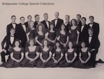 Bridgewater College, College Chorale group portrait, 1993-94 by Bridgewater College