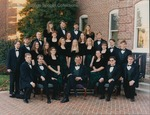 Bridgewater College, College Chorale group portrait, 1997-98 by Bridgewater College