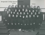 Bridgewater College, Portrait of the Concert Choir, circa 1973 by Bridgewater College