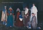 Bridgewater College, Gregg Riddiford (photographer), Students staging a nativity scene, 14 Dec 1988 by Gregg Riddiford