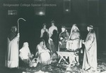 Bridgewater College, Students staging a nativity scene, undated by Bridgewater College
