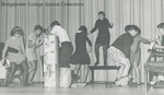 Bridgewater College, Richard Geib (photographer), Class of 1968 in a skit with comedic beer drinking and partying, circa 1967 by Richard Geib