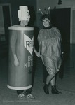 Bridgewater College, Photograph of Lester Herman and Amy Wagner at Halloween, 1985 by Bridgewater College