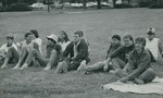 Bridgewater College, Photograph of students at an ice cream social, Sept 1985 by Bridgewater College