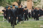 Bridgewater College, Photograph of Jeffrey Miller and other graduates, 9 May 1993 by Bridgewater College