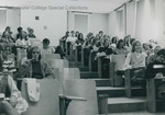 Bridgewater College, Gary Walter (photographer), Sociology class, circa 1972 by Gary Walter