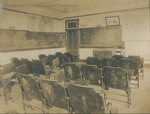 Bridgewater College, Early classroom, probably in Founders' Hall, undated by Bridgewater College