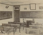 Bridgewater College, Classroom in Founders' Hall, circa 1903 by Bridgewater College
