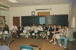 Bridgewater College, Dr David McQuilkin's class, May 1992 by Bridgewater College