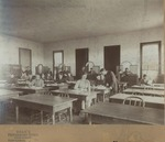 Bridgewater College, Dean's Studio Harrisonburg Virginia (photographer), Business class, circa 1899 by Dean's Studio