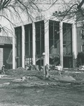 Bridgewater College, Cole Hall exterior under construction, 1968 by Bridgewater College