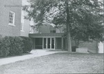 Bridgewater College, Cole Hall back entrance, October 1987 by Bridgewater College