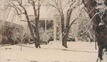 Bridgewater College, Lara Leahman (photographer), Cole Hall in snow, January 1991 by Lara Leahman