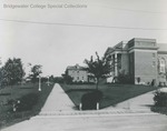 Bridgewater College, Cole Hall and Rebecca Hall, undated, before 1968 by Bridgewater College