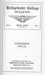 Bridgewater College Catalogue, Session 1911-12 by Bridgewater College