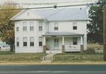 Bridgewater College, Sarah La Charite's photograph of the Farm House, 1988 by Sarah La Charite