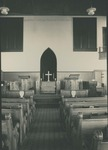 College Street Church-Bridgewater Church of the Brethren sanctuary, undated by Bridgewater College