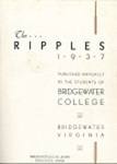 Ripples 1937 by Bridgewater College