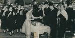 Bridgewater College, A junior serving punch to seniors in regalia, 1951 by Bridgewater College