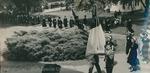 Bridgewater College, The graduation procession, 1951 by Bridgewater College