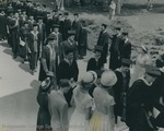 Bridgewater College, The commencement procession, 1951 by Bridgewater College