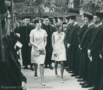 Bridgewater College, Greg Geisert (photographer), Marshals leading the commencement procession, circa 1967 by Greg Geisert