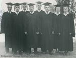Bridgewater College, Portrait of some graudates, 1960 by Bridgewater College