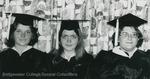 Bridgewater College, Three students in academic regalia, 1976 by Bridgewater College