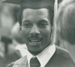 Bridgewater College, A student at commencement, 1980 by Bridgewater College