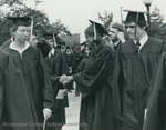 Bridgewater College, Graduates in the commencement line, 1981 by Bridgewater College