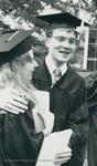 Bridgewater College, Graduates Sam Tharpe and Martha Mace after graduation, 1983 by Bridgewater College