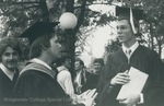 Bridgewater College, Graduates after commencement, 29 May 1983 by Bridgewater College