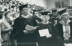 Bridgewater College, Faculty at commencement, 29 May 1983 by Bridgewater College
