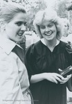 Bridgewater College, A graduate and another woman at commencement, 1983 by Bridgewater College