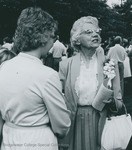 Bridgewater College, Photograph of Naomi Miller West at commencement, 1982 by Bridgewater College
