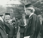 Bridgewater College, Graduates and Professor Ralph MacPhail Jr., May 1984 by Bridgewater College