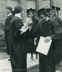 Bridgewater College, Photograph of happy graduates, May 1984 by Bridgewater College