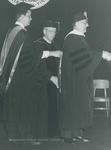 Bridgewater College, Clyde R Shallenberger receiving an honorary degree at commencement_May 1985 by Bridgewater College