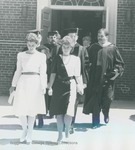 Bridgewater College, Marshals leading the Baccalaureate recessional, May 1985 by Bridgewater College