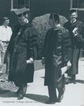 Bridgewater College, Wayne F Geisert and Richard C Detweiler at Baccalaureate, May 1986 by Bridgewater College