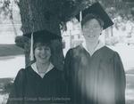 Bridgewater College, Sandy Walbridge and Gina Popp at Baccalaureate, May 1986 by Bridgewater College