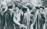 Bridgewater College, Seniors after Baccalaureate, May 1986 by Bridgewater College