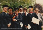 Bridgewater College, Photograph of a group of graduates, 10 May 1992 by Bridgewater College