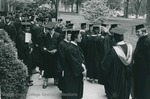 Bridgewater College, Graduates assembling, undated by Bridgewater College