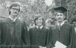 Bridgewater College, Photograph of three graduates, undated by Bridgewater College