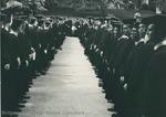 Bridgewater College, The commencement echelon, 2 June 1968 by Bridgewater College