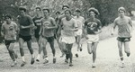 Bridgewater College, Men running for Cross Country, undated by Bridgewater College