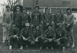 Bridgewater College, Group portrait of the Cross Country team, 1975 by Bridgewater College