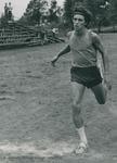 Bridgewater College, Doug Coleman running cross country, circa 1973 by Bridgewater College