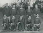 Bridgewater College, Group portrait of the Cross Country team, circa 1956 by Bridgewater College